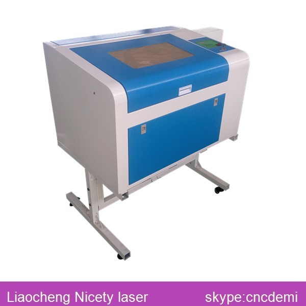 Small Co2 Laser Cutting Machine Rubber Stamp Making 400600mmNT 460B In Wood Routers From Tools On Aliexpress