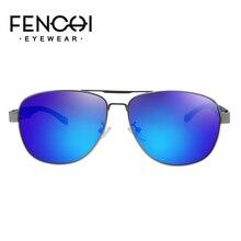 FENCHI sunglasses for men polarized brand driving retro frame unisex classic glasses occhiali da sole uomo eyewear UV400