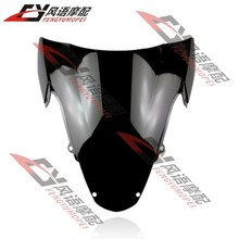 For Suzuki GSXR1000 K3 03-04 Motorcycle Front Black Windscreen windshield goggles Motorcycle Parts Free Shipping