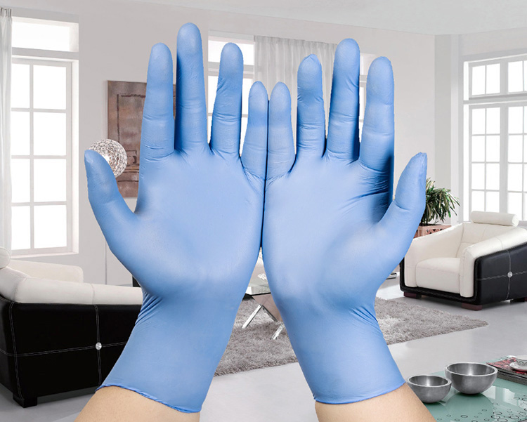 20PC Ultra Thin Household Cleaning nitrile gloves Medical Disposable Tatoo Mechanic Laboratory repair Powder Free latex rubber 3 sizes high quality 100pcs a lot extra strong medical purple powder free nitrile disposable gloves click butyronitrile color