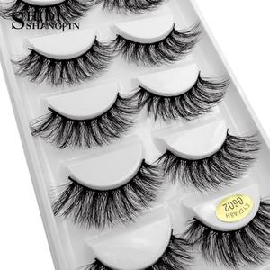 Image 4 - ใหม่ 20 จำนวนมากขายส่งราคา Mink ขนตาปลอมทำด้วยมือขนตาปลอมธรรมชาติยาว 3D Mink ขนตาแต่งหน้าขนตาปลอมธรรมชาติขนตา