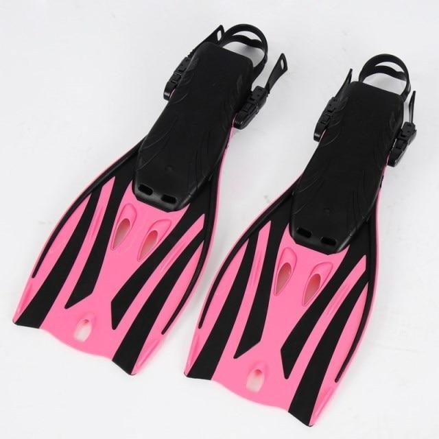 горячая продажа & высокое качество регулируемый Размер розовый пикирования плавники младший обувь Ф-22П
