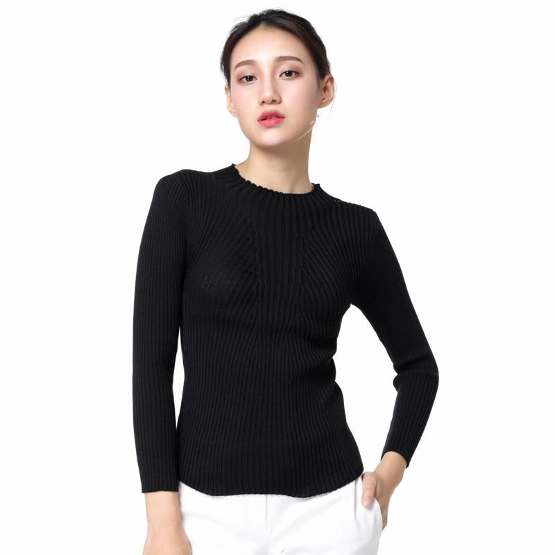 Aliexpress.com : Buy Spring Fashion Women sweater high elastic ...
