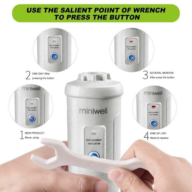 Фото фильтр miniwell l730 для очистки воды спа душа и ухода за кожей цена