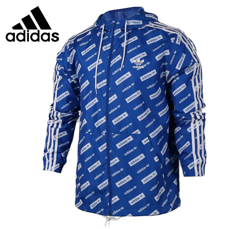 Original New Arrival 2017 Adidas Originals Trf Series Aop Men's jacket Hooded Sportswear adidas original new arrival official neo women s knitted pants breathable elatstic waist sportswear bs4904