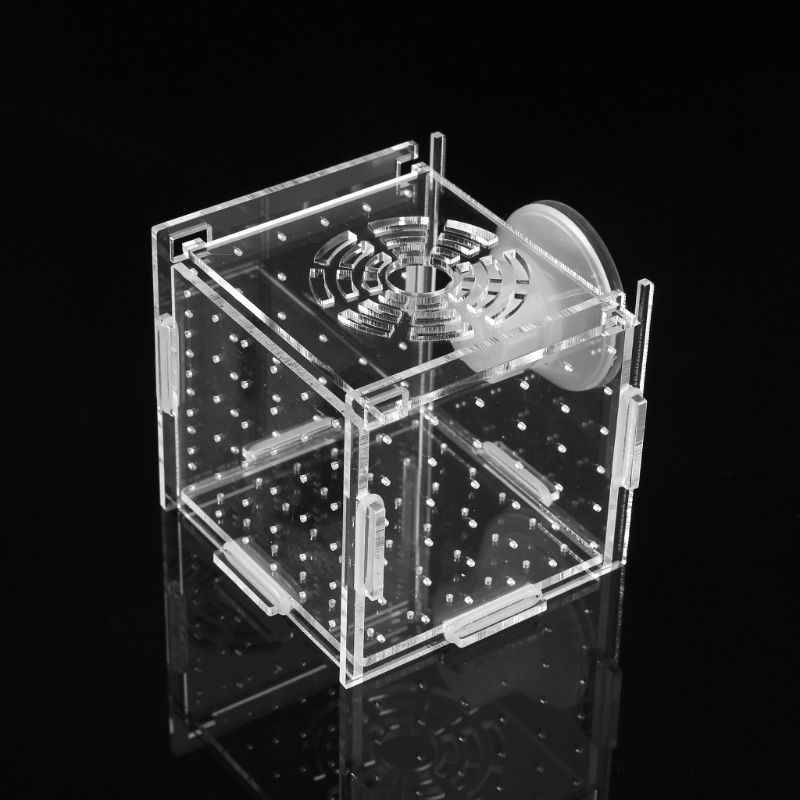 Aquarium Fish Breeding Isolation Box Baby Fish Incubator Hatch Breeder Fish Tank