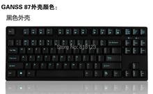 87 teclas TKL tenkeyless gaming keyboard teclado mecánico mx de la cereza claro marrón azul rojo 87 juego de teclado compacto