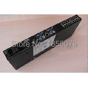 17352LX 2X16 LOCAL CONSOLE MANAGER KVM SWITCH 16-PORTS PS/2 CAT5 1735-2LX 31R3143 31R3136