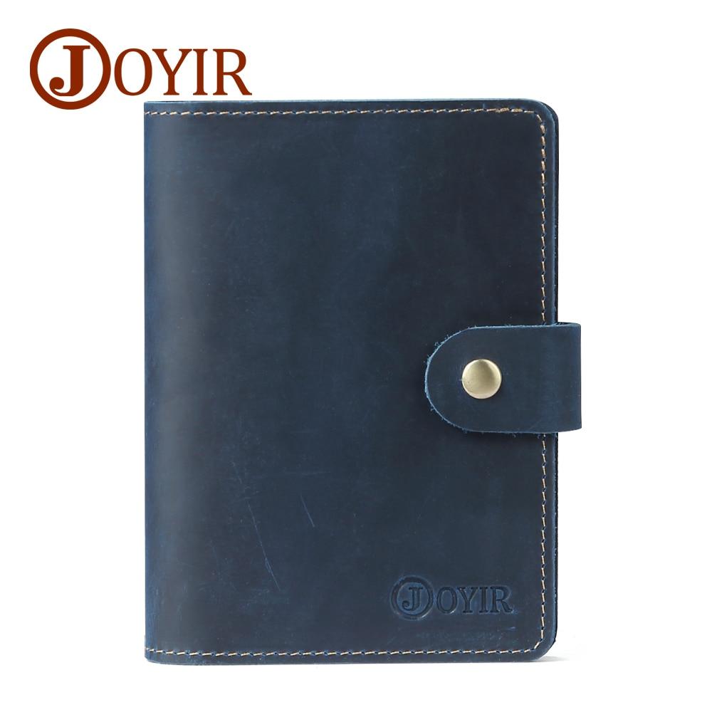JOYIR New Genuine Leather Travel Passport Plånbok RFID Cover ID - Plånböcker - Foto 3