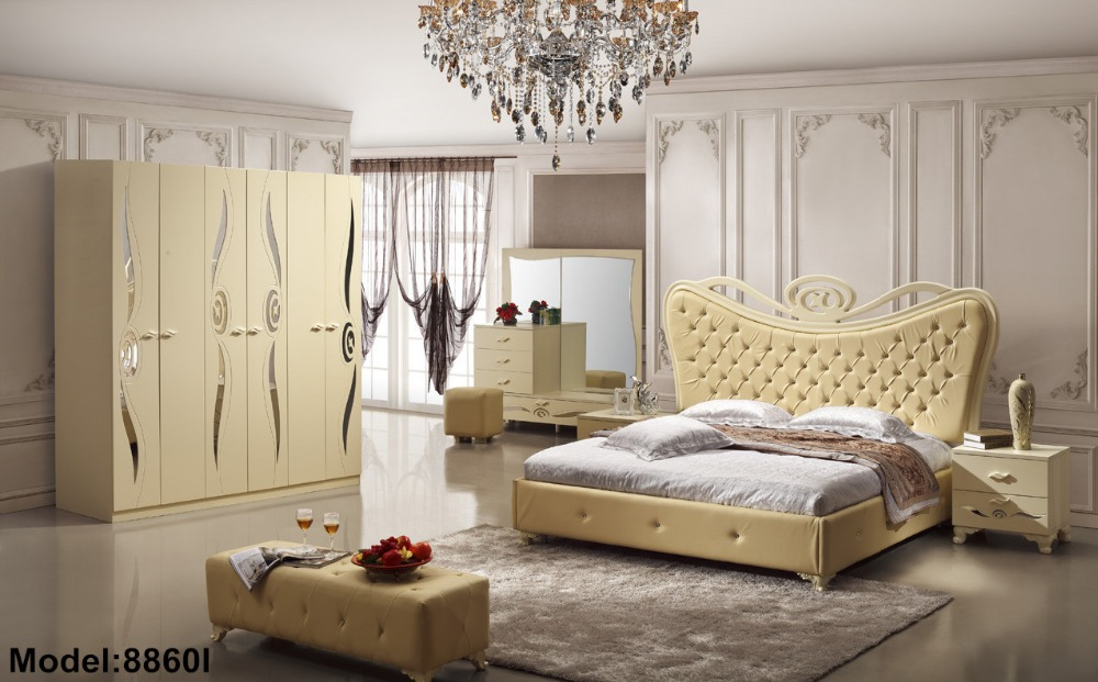 Baroque Furniture 2018 Moveis Para Quarto Nightstand Modern Bedroom Set New Hot Sale Wooden Bed Room Furniture modern bedroom set coiffeuse table de maquillage nightstand 2017 hot sale bedroom set furniture with bed and wardrobe dresser