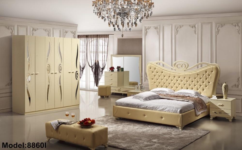 US $1875.0 |Baroque Furniture Baroque Furniture 2018 Moveis Para Quarto  Nightstand Modern Bedroom Set New Hot Sale Wooden Bed Room -in Bedroom Sets  ...