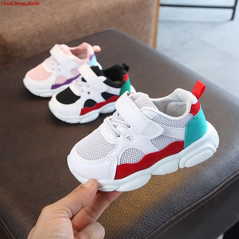 HaoChengJiaDe Kids Autumn Children Mesh Sneakers Spring Baby Boys Casual Shoes Fashion Sport Running Shoes Girls Breathable Shoe