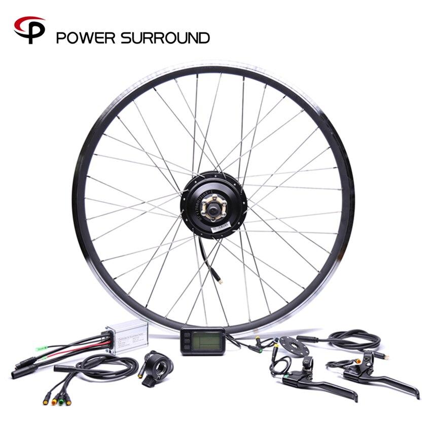 Waterproof 36v250w Bafang Front/rear Electric Bike Conversion Kit Brushless Hub Motors 20 26 28Motor Wheel