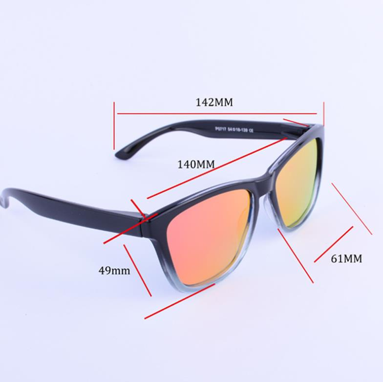 High Quality Gradient Frame Men Polarized Sunglasses Women UV400 Male Female Fishing Driving Outdoor Sport Sun Glasses With Case in Men 39 s Sunglasses from Apparel Accessories