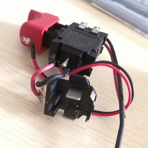 Image 5 - DL2A/2 GSB120 LI Schalter Werkzeug Teile 2609125169 Elektronische Geschwindigkeit Regulierung Schalter Für bosch 3601JF3081 Elektrische Bohrer Schraubendreher