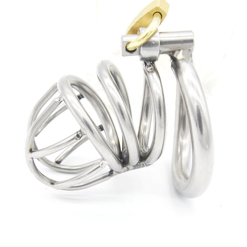 Male Chastity Device Stainless Steel Metal Cock Rings Penis Cage CB6000s Cbt Sex Toys For Men Chastity Devices Cock Cages newest style cock cage 316l stainless steel male chastity device cbt cages for men bdsm bondage lock metal penis sleeve sex toys