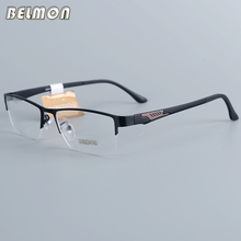 Belmon Eyeglasses Frame Men Computer Optical Prescription Myopia Nerd Clear Lens Eye Glasses Spectacle For Male RS12018