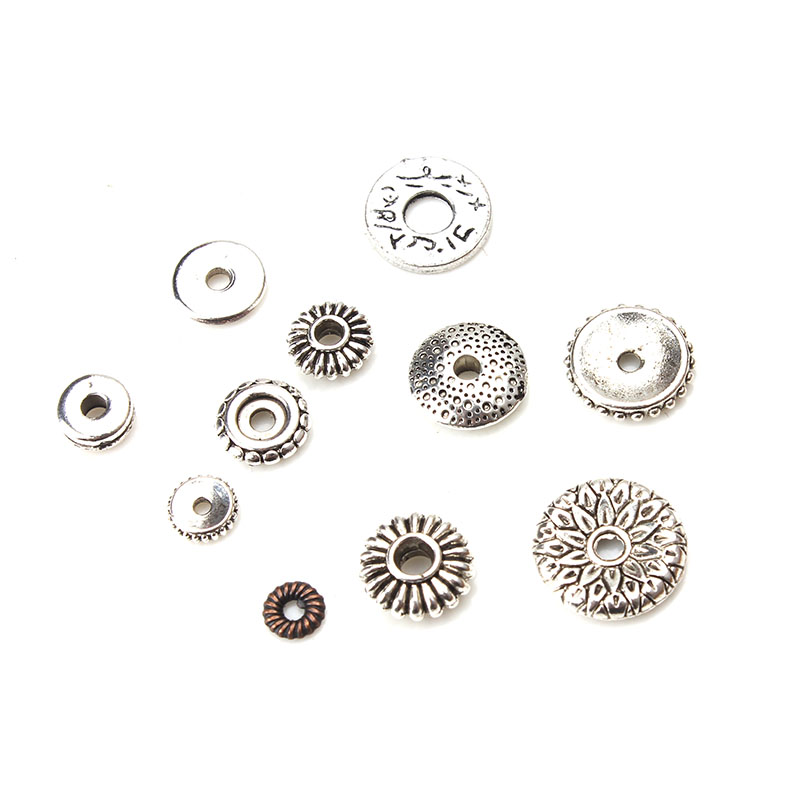 10pcs/lot Different Styles Metal Beads Spaced Beads Loose Beads Accessories For Diy Jewelry Making Components 10pcs lot cy2cc8100xi 1 ^