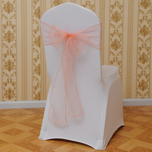 Hot Sale Organza Weddings Chair Sashes Bow Cover chair sashes tulle For Events amp Party Banquet Christmas Decoration mint green cheap hotel home Plain TIDYHOUSE 275*15cm Plain Dyed H-180417b many Spandex Polyester Cotton China one piece into one opp bag