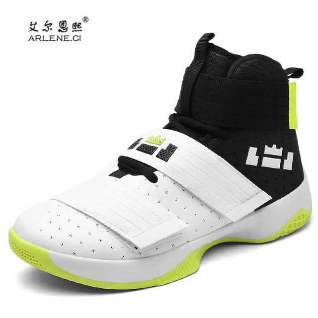 c634fa755486 2018 Men Basketball Shoes Court Male fitness Basketball Ankle Boots for  Female Couple Stability Court Sports Sneakers Size 36-45