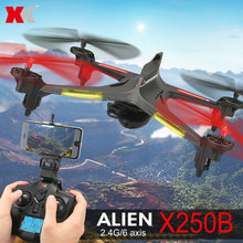 WL New 2.4G RC Quadcopter XK X250 with WIFI or FPV Mini Drone with HD 720P Camera with Retail Color Box