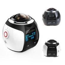 Новые Водонепроницаемый Wi-Fi 4 К HD 2448 P 360 градусов панорамный Камера Спорт DV действий VR видеокамера высокое качество