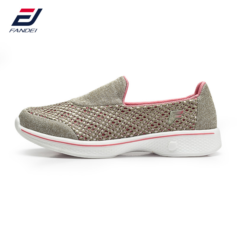 FANDEI zapatillas mujer deporte women running shoes breathable mesh women sport shoes super comfortable light women sneakers kelme football shoes boots for adult children 30 39 train sneakers tobillera soccer cleats zapatillas deporte light soft flats49
