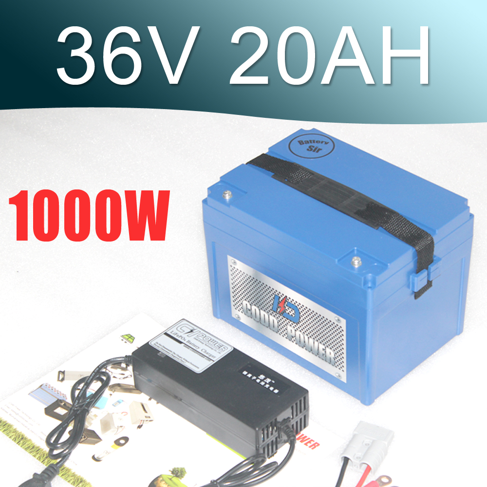 36V Electric Bike battery 36V 20AH Lithium Battery with 30A BMS 42V 2A charger