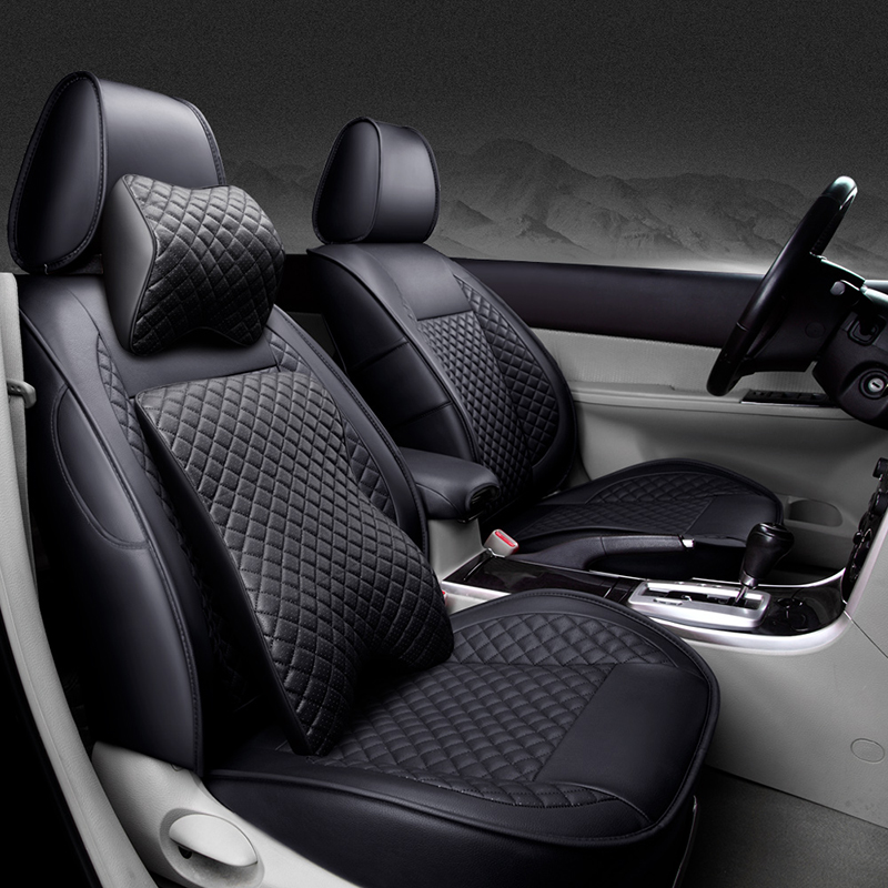 Front Rear Special Leather car seat covers For LandRover all models Range Rover Freelander discovery