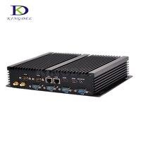 Миниатюрный Настольный ПК Core i7 4500U Windows 10 прочный ITX чехол Встроенный промышленный компьютер 2 LAN HDMI 6 COM 300 м WI FI NC310