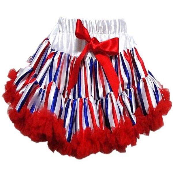 Девочка малыш младенческая малышей шифон пушистые юбка юбки принцесса ну вечеринку танец одежды PETS-127