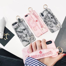 Hand Strap Phone Case iPhone 6 6s Plus 7 7 Plus 8 X
