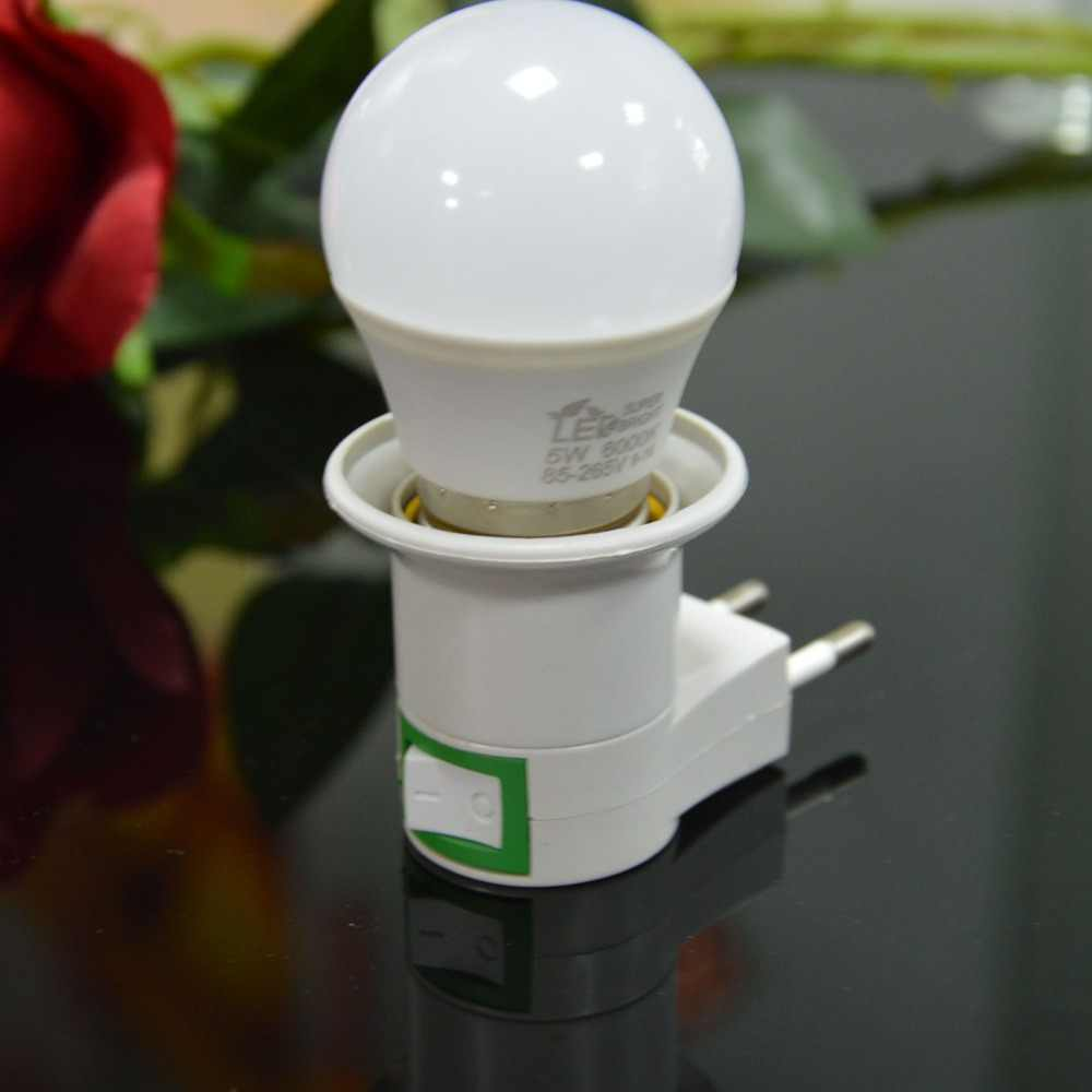 hot selling led Bulb Socket 5W Led Night Light Warm white White led night lamp indoor lighting  Euerop E27