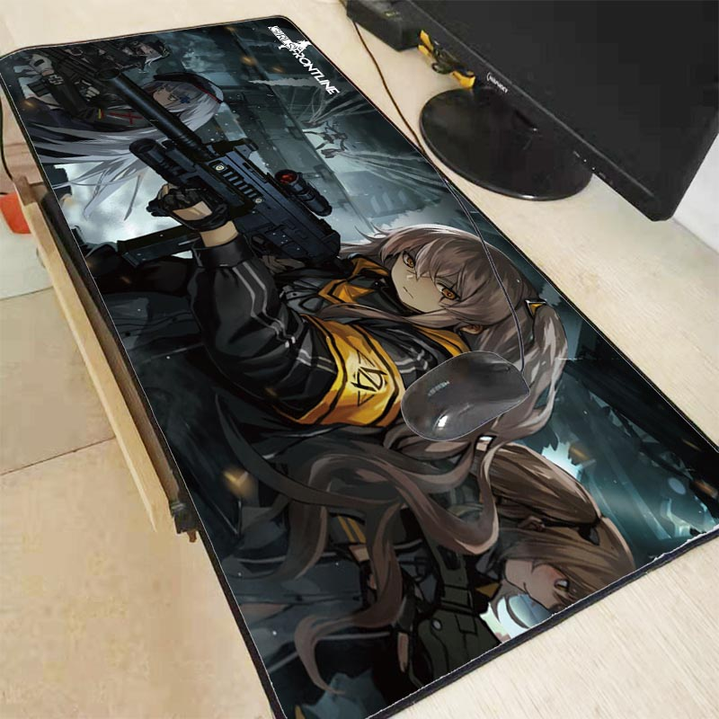 Mairuige Girls Frontline  Anime Rubber Gaming Mousepad Desk Mat Large Lock Edge Mouse Pad Laptop PC Computer Mat Free Shipping