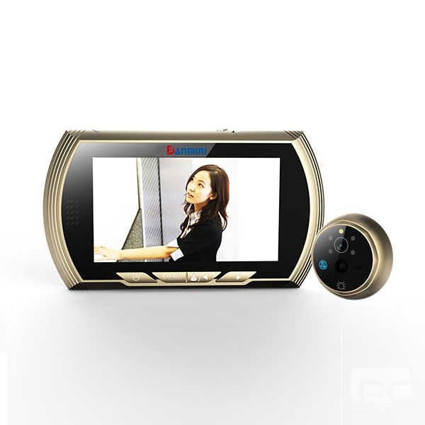 ФОТО HD 1MP Motion Detection 4.3 inch Video Door Phone IR Night Vision
