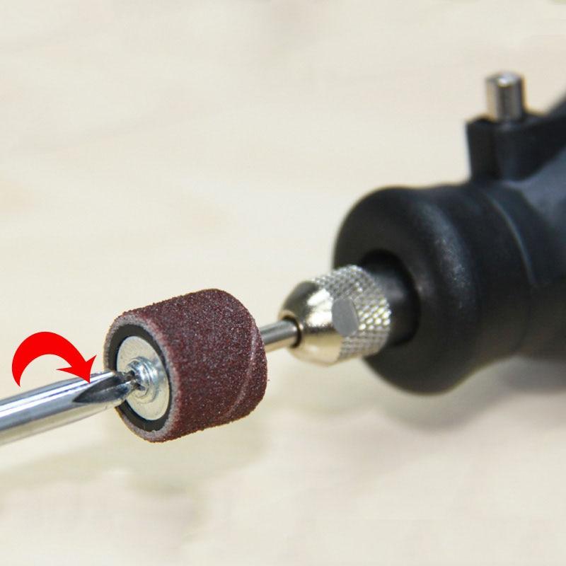 102vnt šlifavimo juostos rankovės ir būgnų rinkinys 3,2 mm - Abrazyviniai įrankiai - Nuotrauka 4