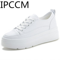 2019 Spring New Stylish And Comfortable Deodorant Wild Wedge Leisure Women's White Shoes