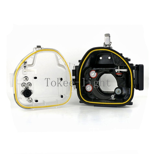 Image 4 - 40 meters Underwater Waterproof Housing Diving Camera Case Housing Bag for Canon EOS M2 EOS M2 EOS M II Camera fit 18 55mm lens