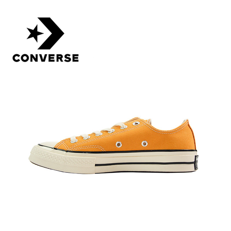 Original Converse All Star 70S Skateboarding Shoes Classic Canvas Low Top Anti-Slippery Comfortable Casual Unisex Sneakers 2019