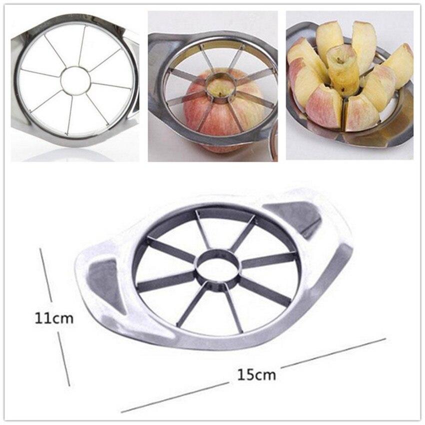 304 Stainless Steel Fruit Slicer Apple Corer Pear Cutters Knife Peeler Cut Tool