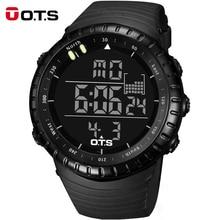 LED wspinaczka zegarki czarne