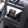 Freno de estacionamiento eléctrico del coche pegatinas para volvo xc60 s60 s60l Cromo Styling Fundas Para Volvo XC60 V60 S60/L V60 Coche accesorios