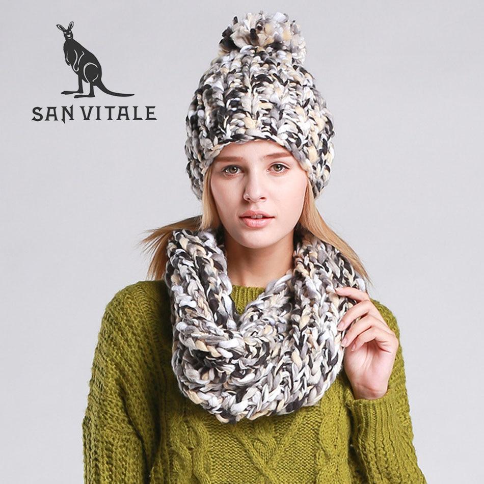 Scarves Women'S Scarf Fashionable Winter Warm Palestine Desinger Luxury Brand Cashmere Plaid Pashmina For Dress Scarfs Hat Sets
