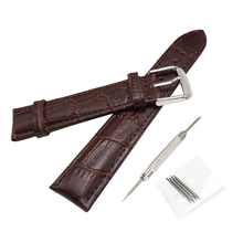 купить NEW Leather watchbands watch straps 14MM,16MM,18MM,20MM,22MM Watchband 20mm Bamboo Correa de reloj 20 Women watch clock J017- по цене 285.93 рублей