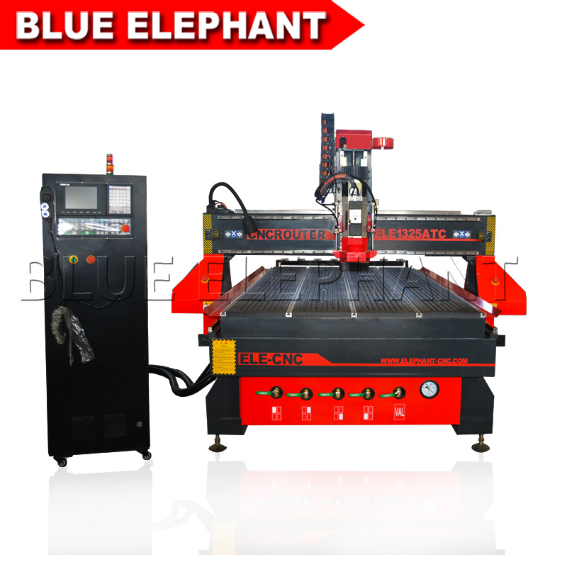 Us 19800 0 Vacuum Table Hiwin Square Rail Wood Cnc Router 1325 Atc Atc Cnc Router 1325 3 Axis Cnc Wood Router For Sale In Wood Routers From Tools On