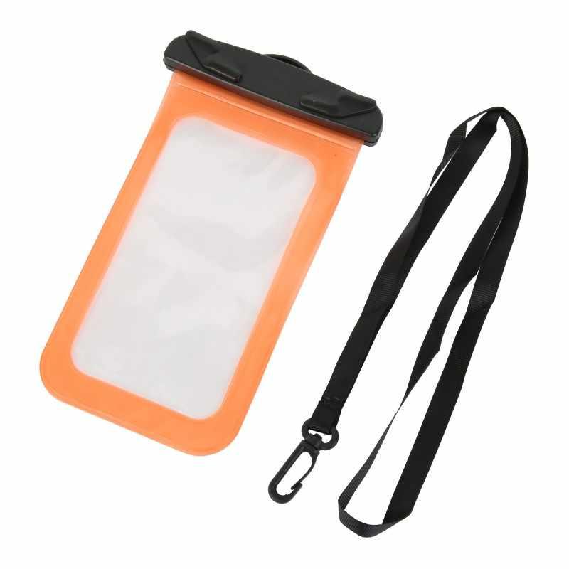 للماء متعددة نمط صمام نوع البسيطة حقيبة سباحة للهواتف الذكية تعمل باللمس حقيبة الهاتف الرعاية الهاتف الحاويات