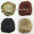 Мужские тупею и женские парики Хорошее качество Синтетических волос, Парики выпадения волос топ шт Бесплатная Доставка
