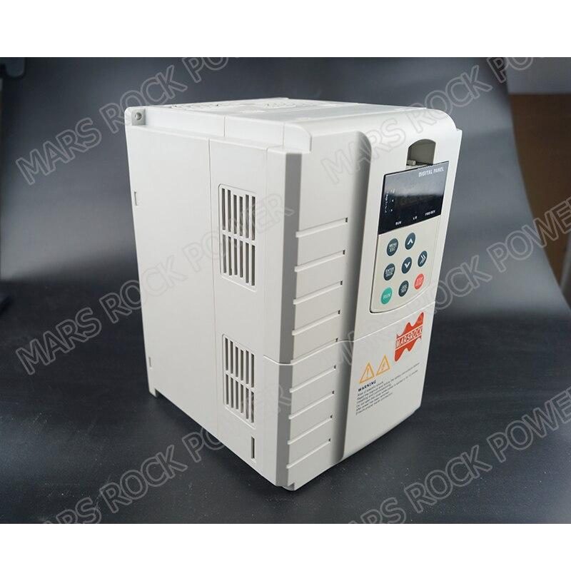 7.5KW 17A 3 phase 380VAC mppt solarpumpenwechselrichter für 7.5HP 5.5KW wasserpumpe DC schalter innen PV solarpumpe controller - 3