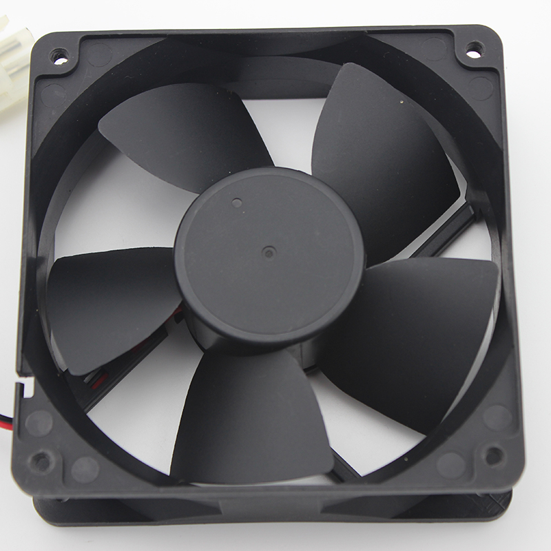 Emacro For Y.S TECH FD241232HB Server Square Fan DC 24V 0.29A 120x120x32mm 2-wire emacro for psc p1124020mb1a server square fan dc 12v 100ma 1 2w 40x40x20mm 3 wire