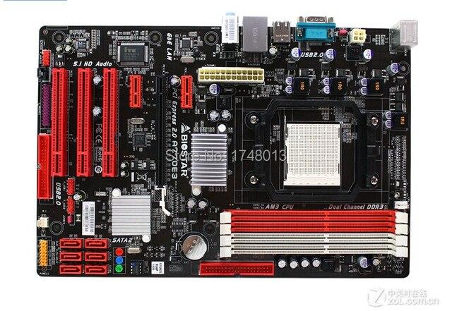 Free shipping 100% original motherboard for Biostar A770E3 Socket AM3 DDR3 mainboard  r desktop motherboard
